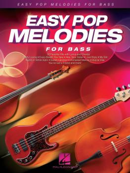 Easy Pop Melodies (For Bass) (HL-00125794)