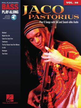 Jaco Pastorius: Bass Play-Along Volume 50 (HL-00128407)