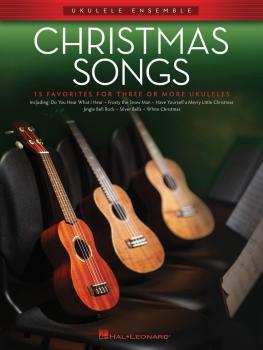 Christmas Songs: Ukulele Ensembles Intermediate (HL-00129247)