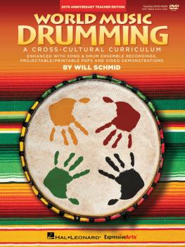 World Music Drumming: Teacher/DVD-ROM (20th Anniversary Edition): A Cr (HL-00141641)