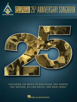 Acoustic Guitar 25th Anniversary Songbook (HL-00142235)