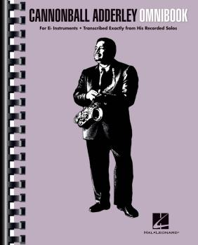 Cannonball Adderley - Omnibook (For E-flat Instruments) (HL-00142424)