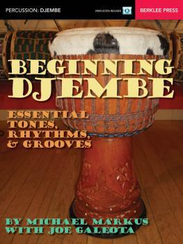 Beginning Djembe: Essential Tones, Rhythms & Grooves (HL-00148210)