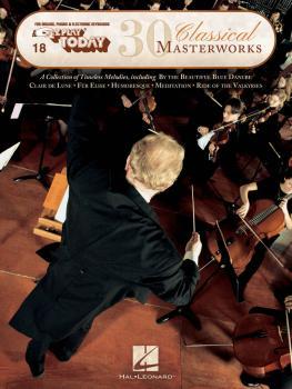 30 Classical Masterworks: E-Z Play Today Volume 18 (HL-00149113)