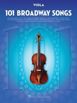 101 Broadway Songs for Viola (HL-00154207)