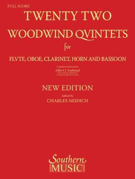 22 Woodwind Quintets - New Edition (Woodwind Quintet) (HL-00156532)