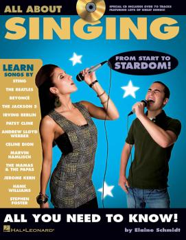 All About Singing: A Fun and Simple Guide to Learning to Sing (HL-00311452)