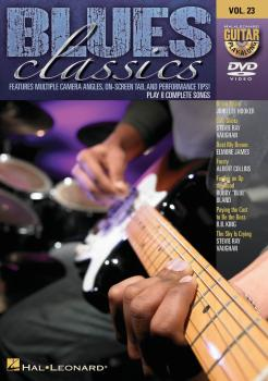 Blues Classics: Guitar Play-Along DVD Volume 23 (HL-00320879)