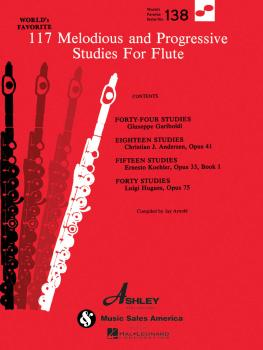 117 Melodious and Progressive Studies for Flute: World's Favorite Seri (HL-00510138)