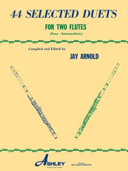 44 Selected Duets for Two Flutes - Book 1 (Easy/Intermediate) (HL-00510553)