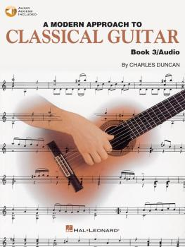 A Modern Approach to Classical Guitar: Book 3 - Book with Online Audio (HL-00695117)