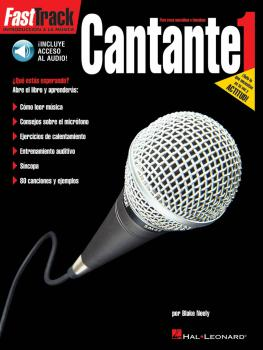 Cantante 1: FastTrack Lead Singer Method Book 1 - Spanish Edition (HL-00696589)