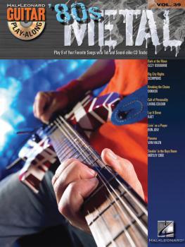 '80s Metal: Guitar Play-Along Volume 39 (HL-00699664)