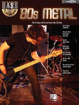 '80s Metal: Bass Play-Along Volume 16 (HL-00699825)