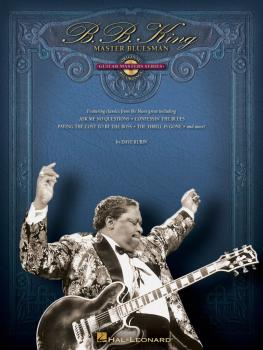 B.B. King - Master Bluesman: Deluxe Edition: Guitar Masters Series (HL-00699923)