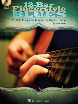 12-Bar Fingerstyle Blues: 25 Solo Pieces for Acoustic or Electric Guit (HL-00701463)