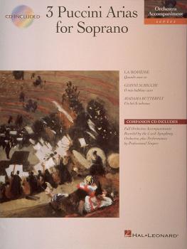 3 Puccini Arias for Soprano: Orchestra Accompaniment Series (HL-00740058)
