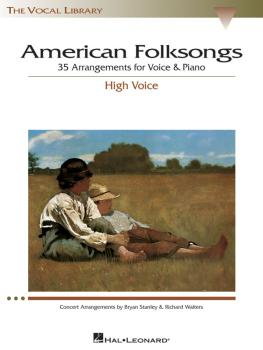 American Folksongs: The Vocal Library High Voice (HL-00740187)