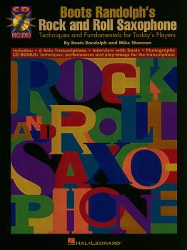 Boots Randolph's Rock & Roll Saxophone (Now available on CD!) (HL-00841119)