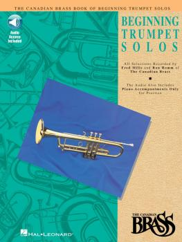 Canadian Brass Book of Beginning Trumpet Solos (With Online Audio of P (HL-00841141)