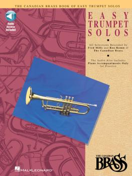 Canadian Brass Book of Easy Trumpet Solos (Book/Online Audio) (HL-00841145)