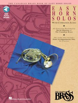 Canadian Brass Book of Easy Horn Solos (Book/CD Pack) (HL-00841146)