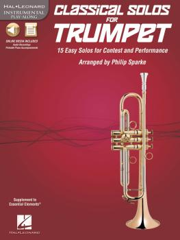 Classical Solos for Trumpet: 15 Easy Solos for Contest and Performance (HL-00842548)