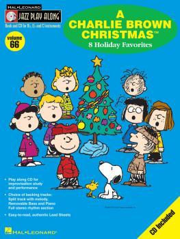 A Charlie Brown Christmas: Jazz Play-Along Volume 66 (HL-00843067)
