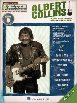 Albert Collins: Blues Play-Along Volume 9 (HL-00843178)
