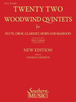 22 Woodwind Quintets - New Edition (Woodwind Quintet) (HL-03770291)