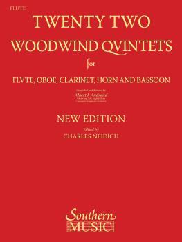 22 Woodwind Quintets - New Edition (Flute Part) (HL-03770292)