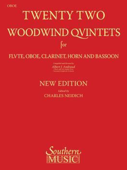 22 Woodwind Quintets - New Edition (Oboe Part) (HL-03770294)