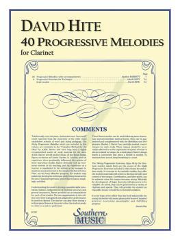 40 Progressive Melodies (Clarinet) (HL-03770581)