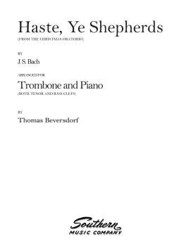 Haste, Ye Shepherds (Trombone) (HL-03774108)