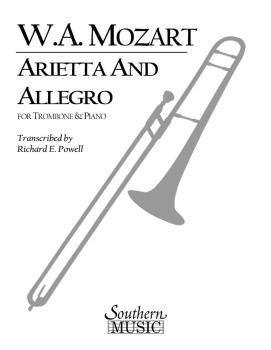 Arietta and Allegro, K109b/8 K3: Trombone, Baritone or Trumpet and Pia (HL-03774509)
