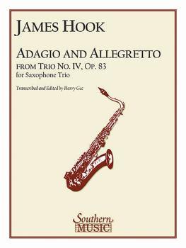 Adagio and Allegretto (Saxophone Trio) (HL-03774579)