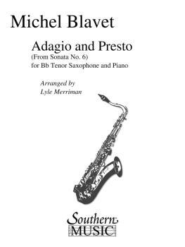 Adagio and Presto (Tenor Sax) (HL-03774884)