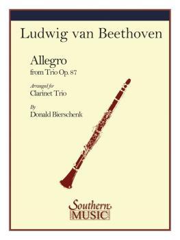 Allegro (from Trio Op. 87) (Clarinet Trio) (HL-03775281)