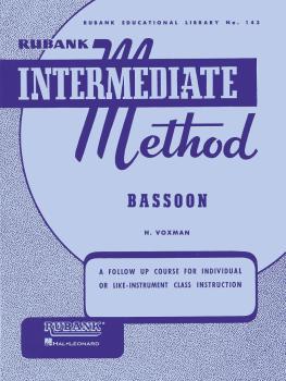 Rubank Intermediate Method - Bassoon (HL-04470230)