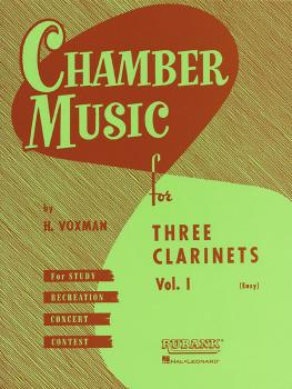 Chamber Music for Three Clarinets, Vol. 1 (Easy) (HL-04474550)