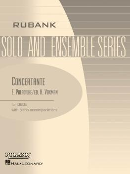 Concertante: Oboe Solo with Piano - Grade 4.5 (HL-04476904)
