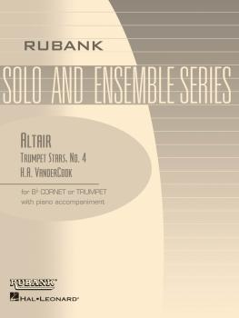 Altair (Trumpet Stars No. 4): Bb Trumpet/Cornet Solo with Piano - Grad (HL-04477651)