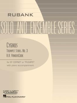 Cygnus (Trumpet Stars No. 3): Bb Trumpet/Cornet Solo with Piano - Grad (HL-04477655)