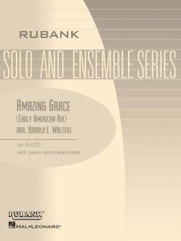 Amazing Grace: Flute Solo/Duet with Piano - Grade 1 (HL-04479864)