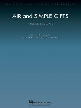 Air and Simple Gifts: Violin, Cello, Clarinet and Piano Full Set (HL-04490842)