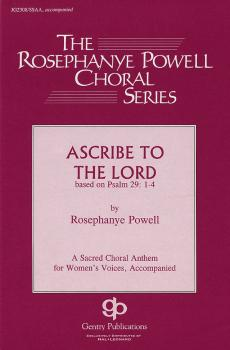 Ascribe to the Lord (HL-08739257)