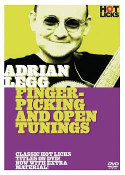 Adrian Legg - Fingerpicking & Open Tuning (HL-14001173)