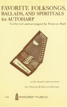 Favorite Folksongs, Ballads and Spirituals for Autoharp (HL-14011139)