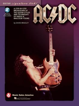 AC/DC - Guitar Signature Licks: A Step-by-Step Breakdown of the Guitar (HL-14041352)