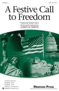 A Festive Call to Freedom: Together We Sing Series (HL-35028527)